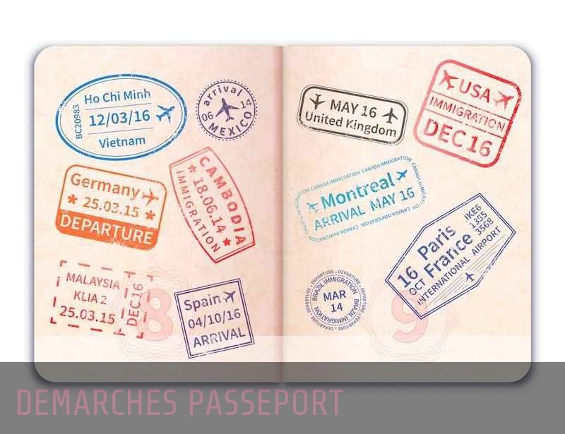 Démarches passeport